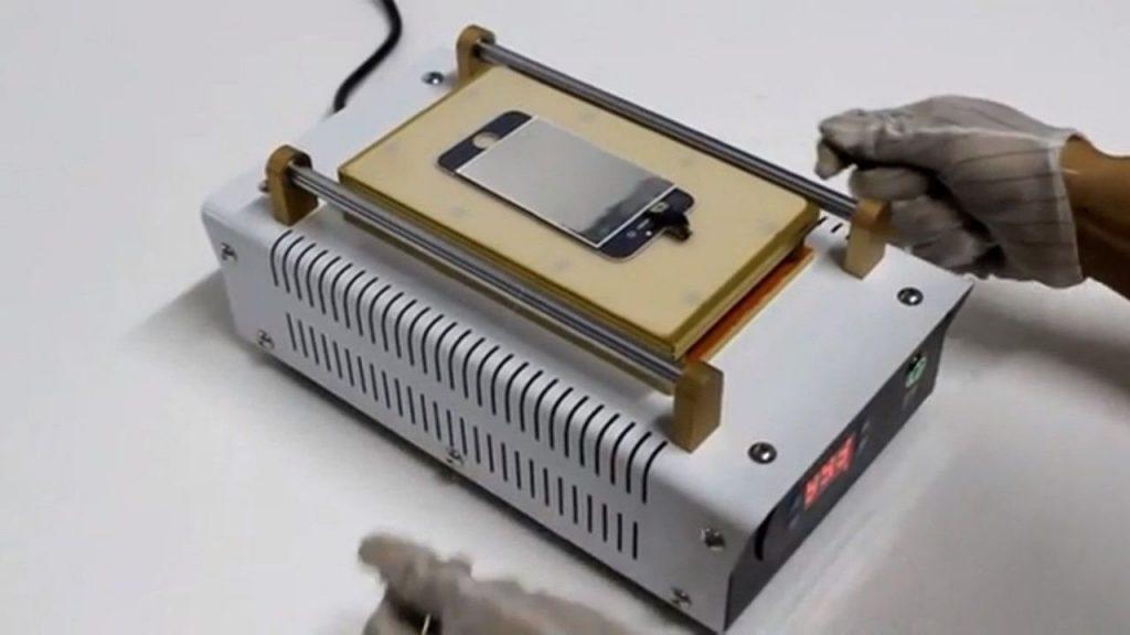 best LCD screen separator machine