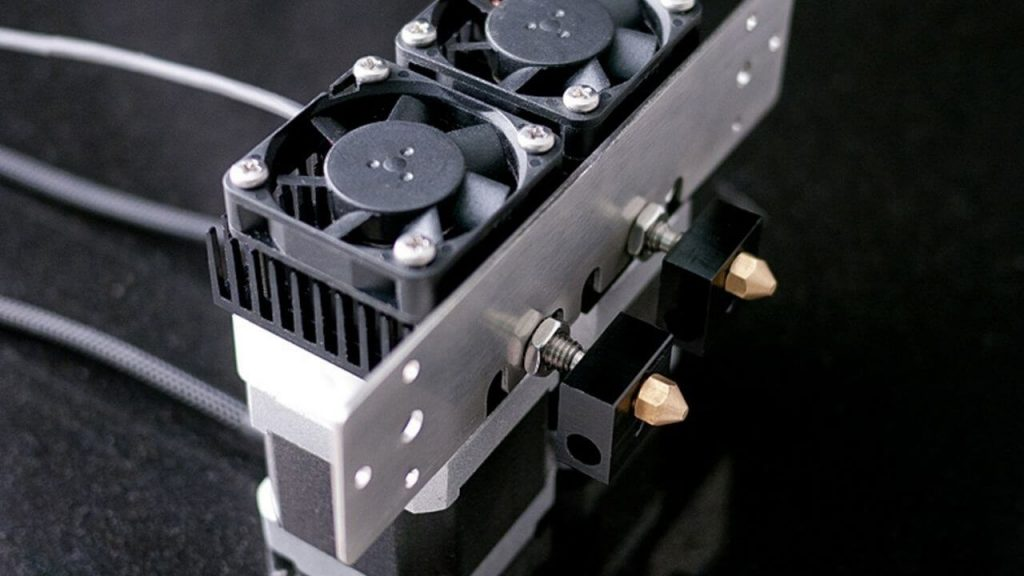 Top Dual Extruder 3D Printers