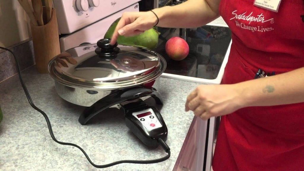 Electric skillet 16 inch