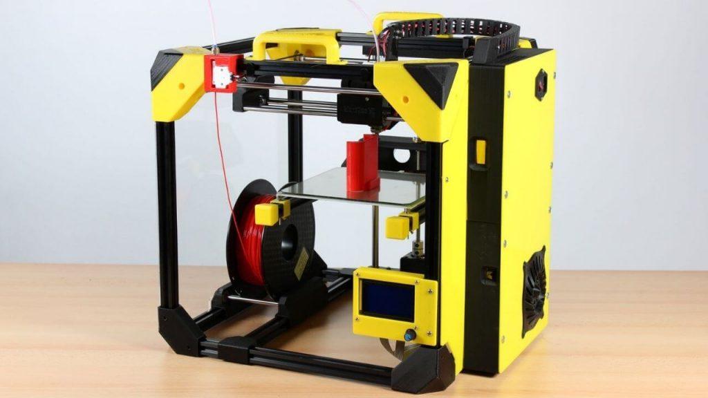 mini enclosed 3d printer