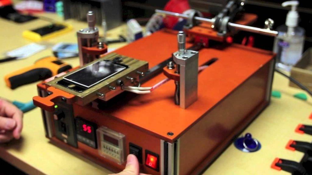 Automatic lcd separator machine