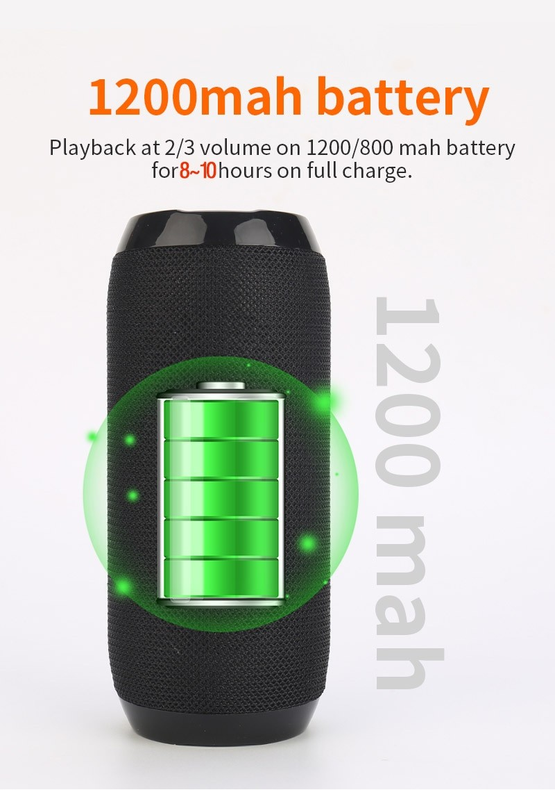 YABA TG117 Portable Bluetooth Speaker 1