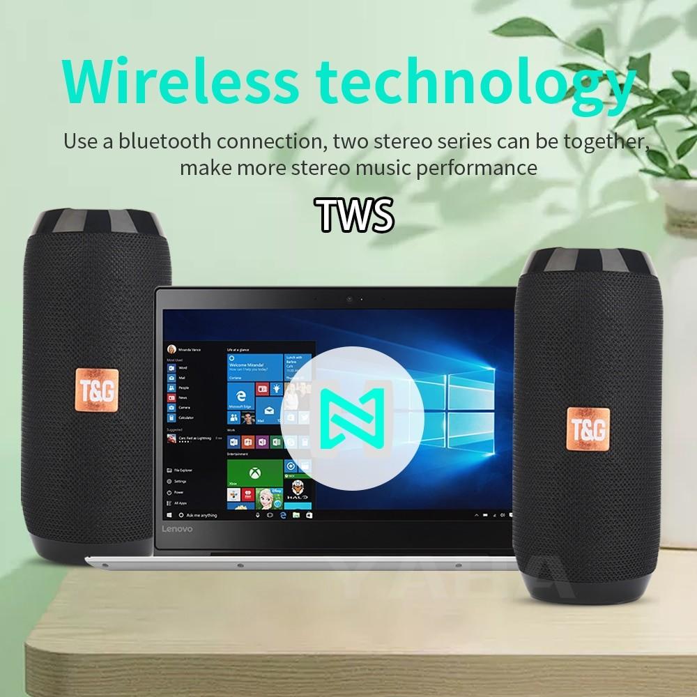YABA TG117 Portable Bluetooth Speaker 4