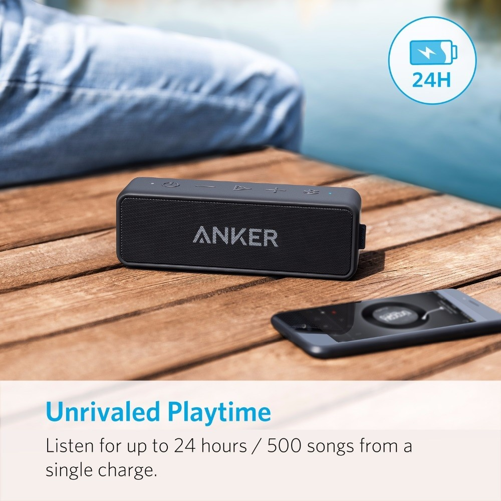 Anker Soundcore 2 Portable Bluetooth Speaker 2