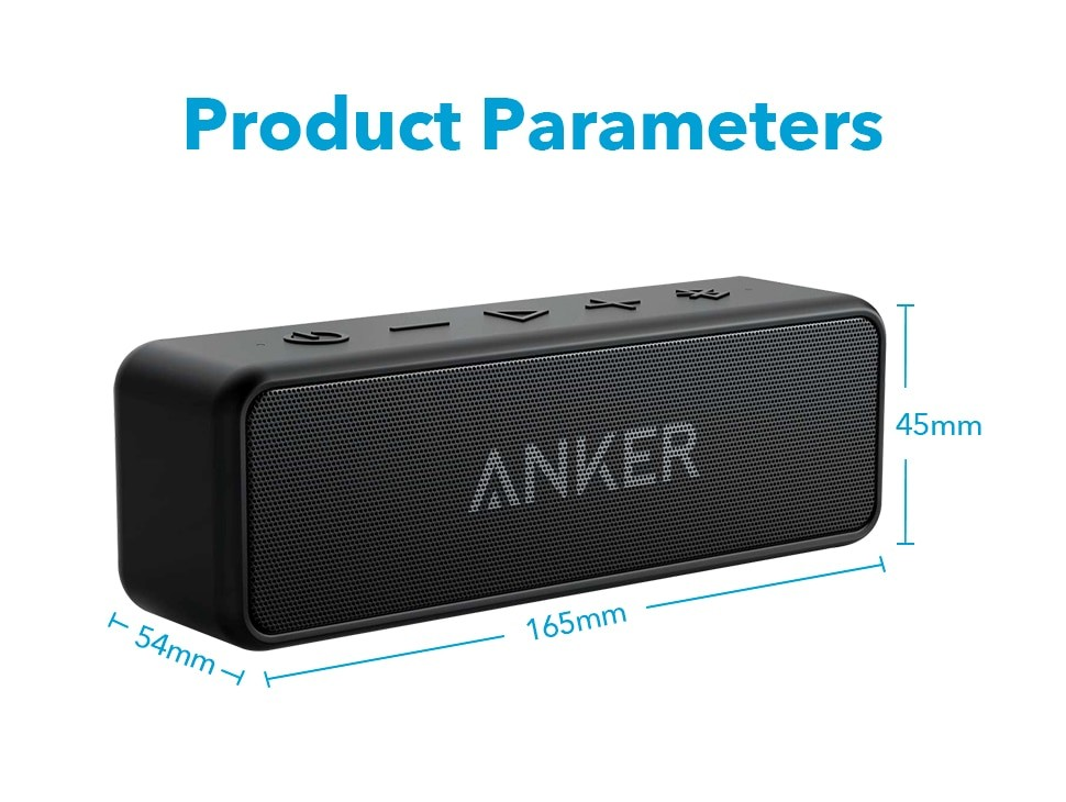 Anker A3105 Soundcore 2 Portable Bluetooth Speaker