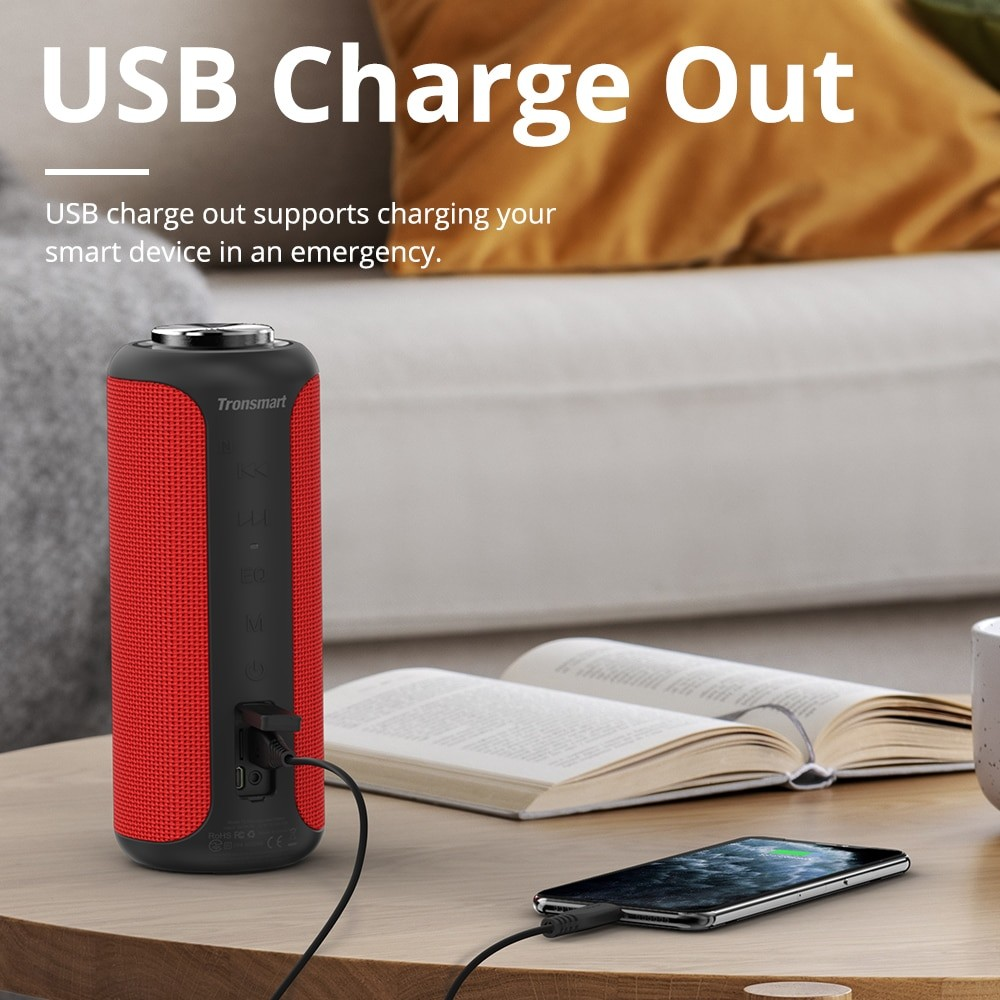 Tronsmart T6 Plus Portable Bluetooth Speaker 5