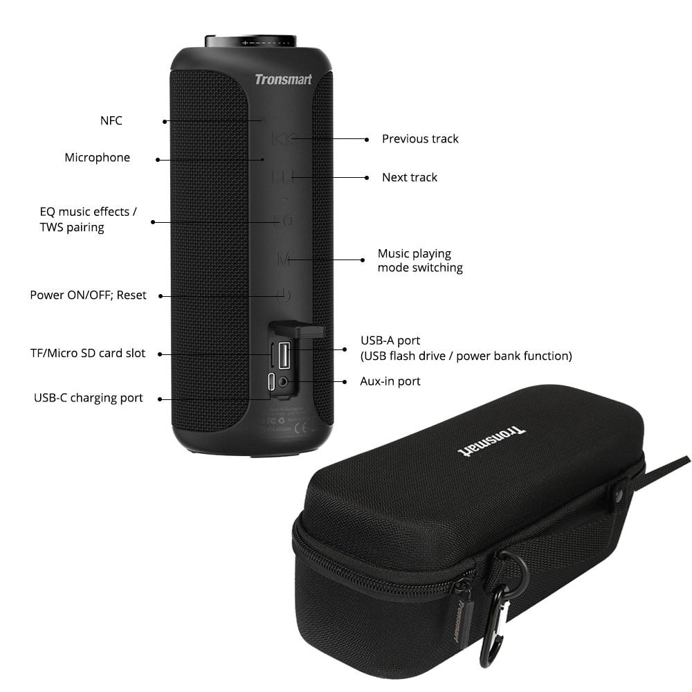 Tronsmart T6 Plus Portable Bluetooth Speaker 4