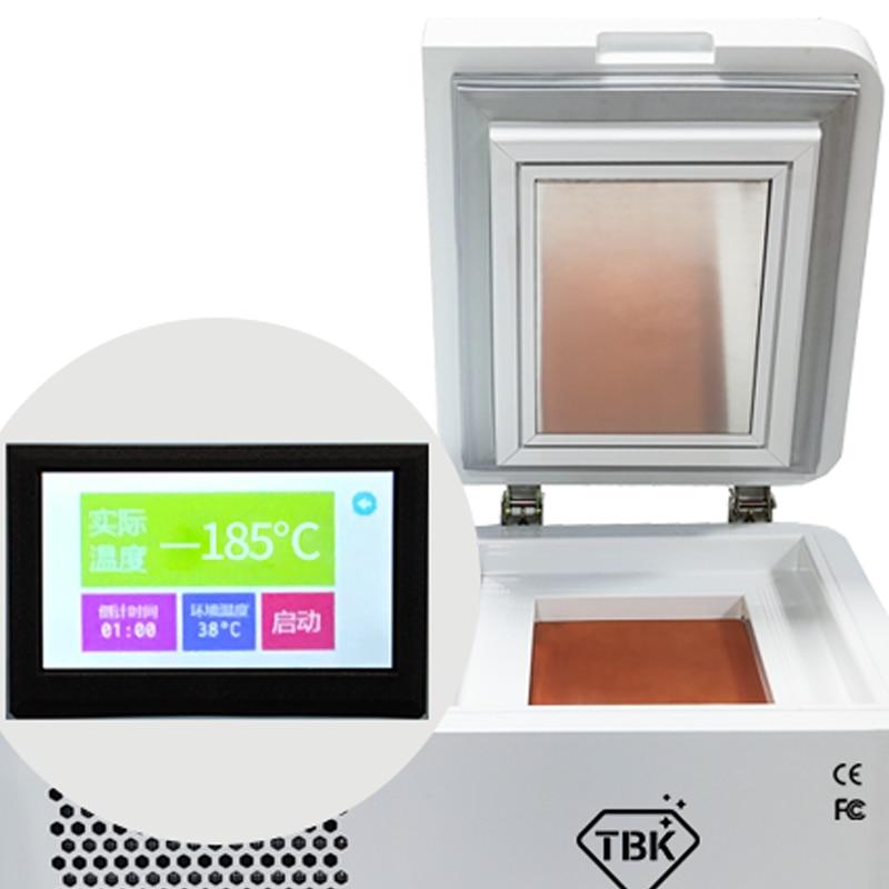TBK-578 Mini Desktop LCD Freezing Separator Machine 5