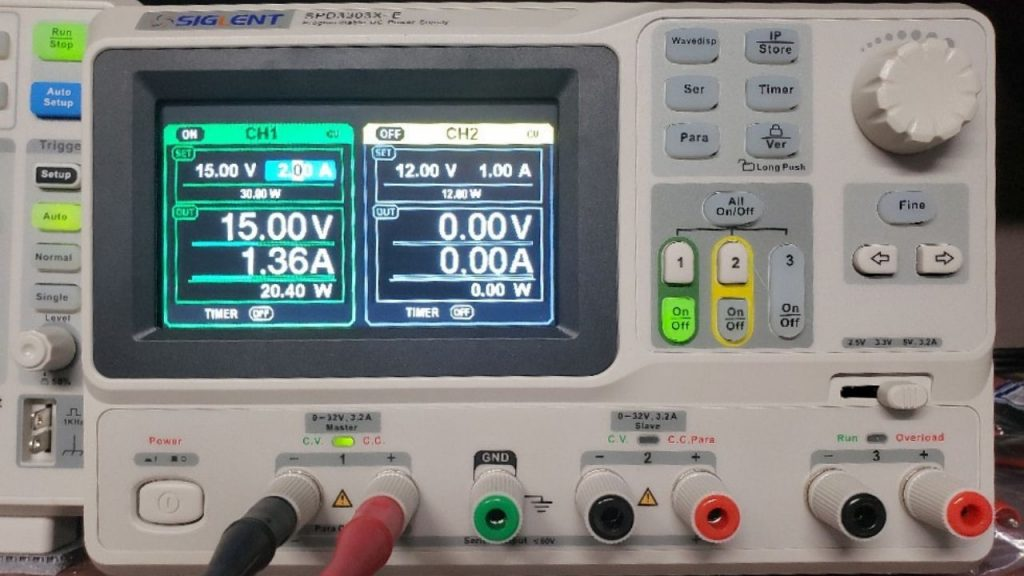 DC power supply inverter