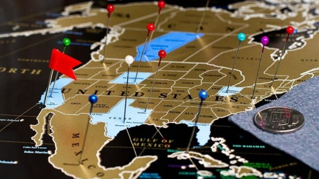 best quality scratch off travel map
