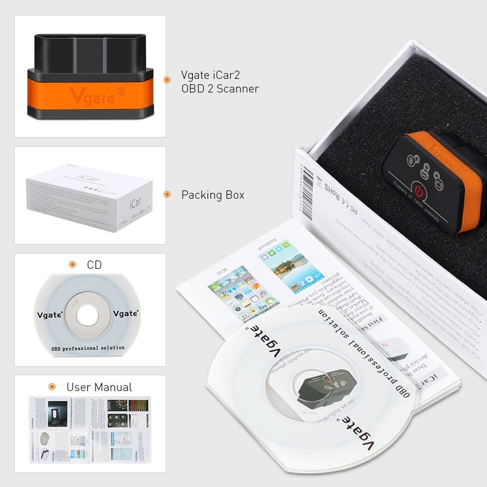 Buy Vgate OBD2 Scanner ELM327 3