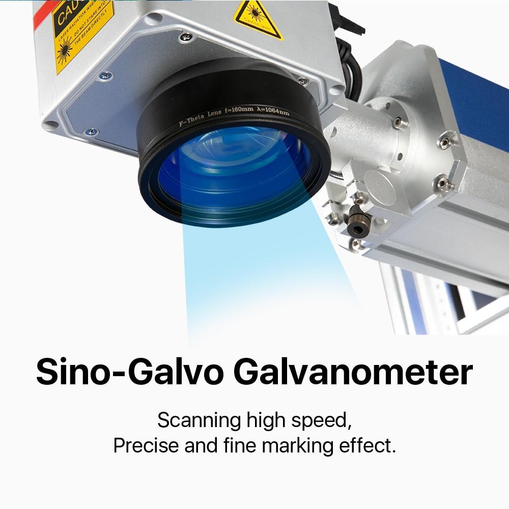 Cloudray Fiber Laser Marking Machine 110*110-300*300 Working Area