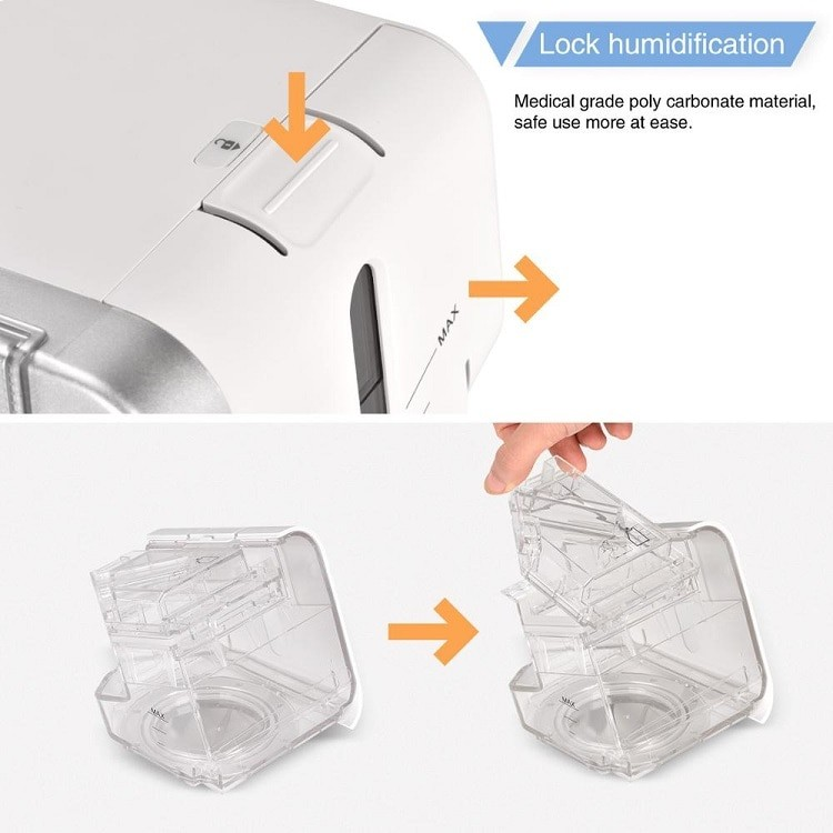 Buy MOYEAH-Ibreath CPAP Machine For Sleep Apnea With Humidifier 2