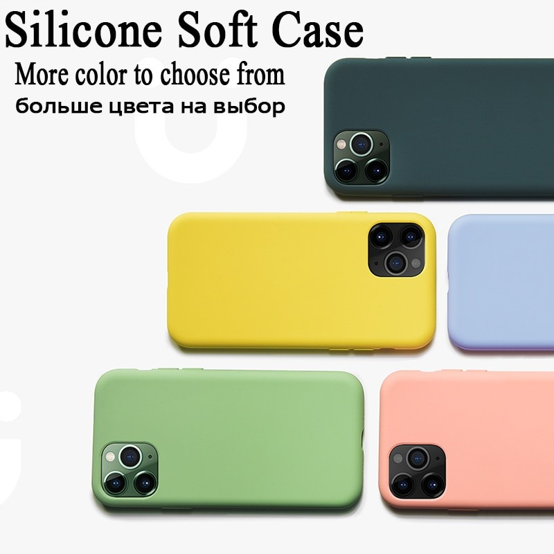 Liquid Silicone Soft Cover For iPhone 5