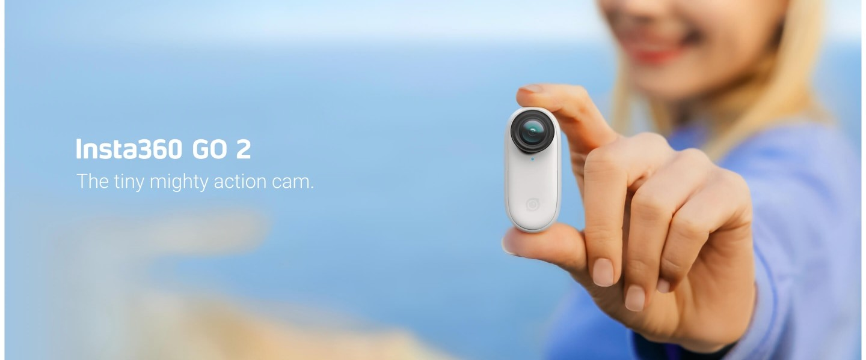 Insta360 GO 2 Mini Action Camera