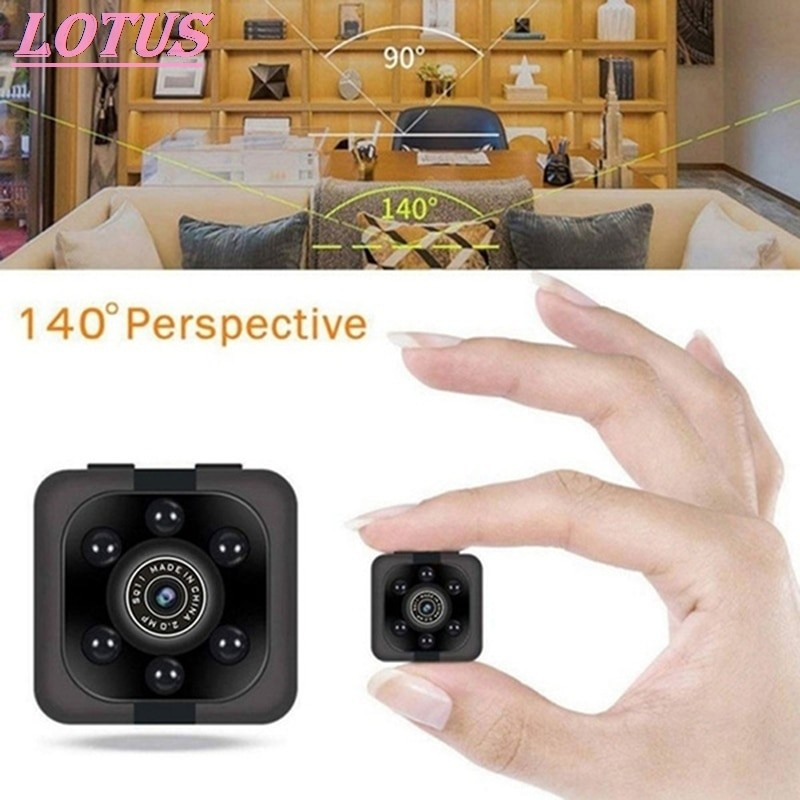 1080p Mini Spy Camera With Night Vision and WiFi 5