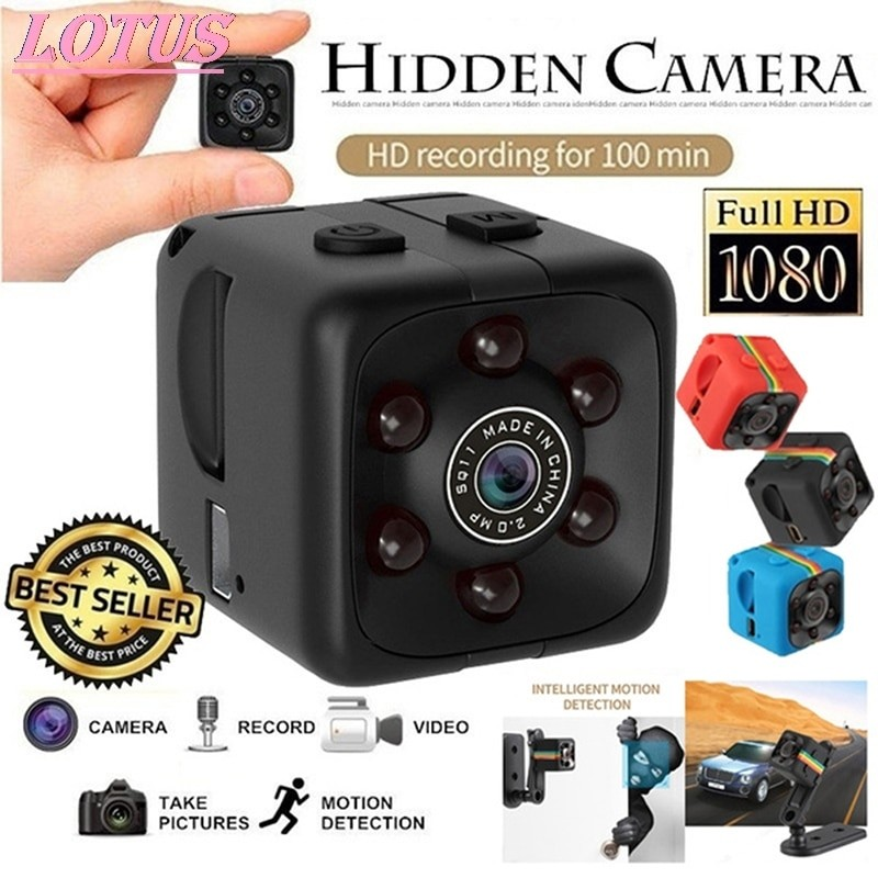 1080p Mini Spy Camera With Night Vision and WiFi 1