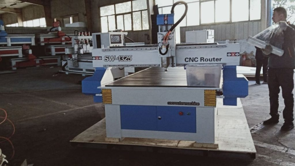Cleaning OF Wood CNC Machines