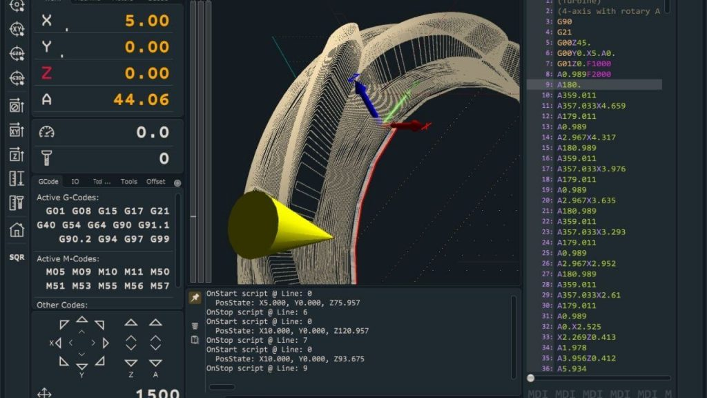 PlanetCNC Software