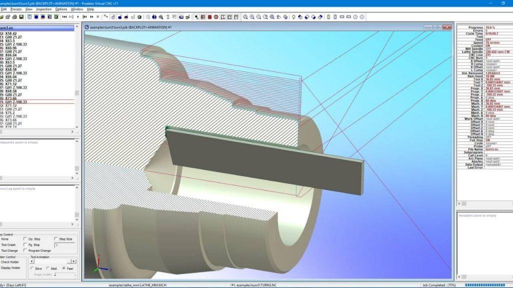 Predator CNC Editor CNC Software