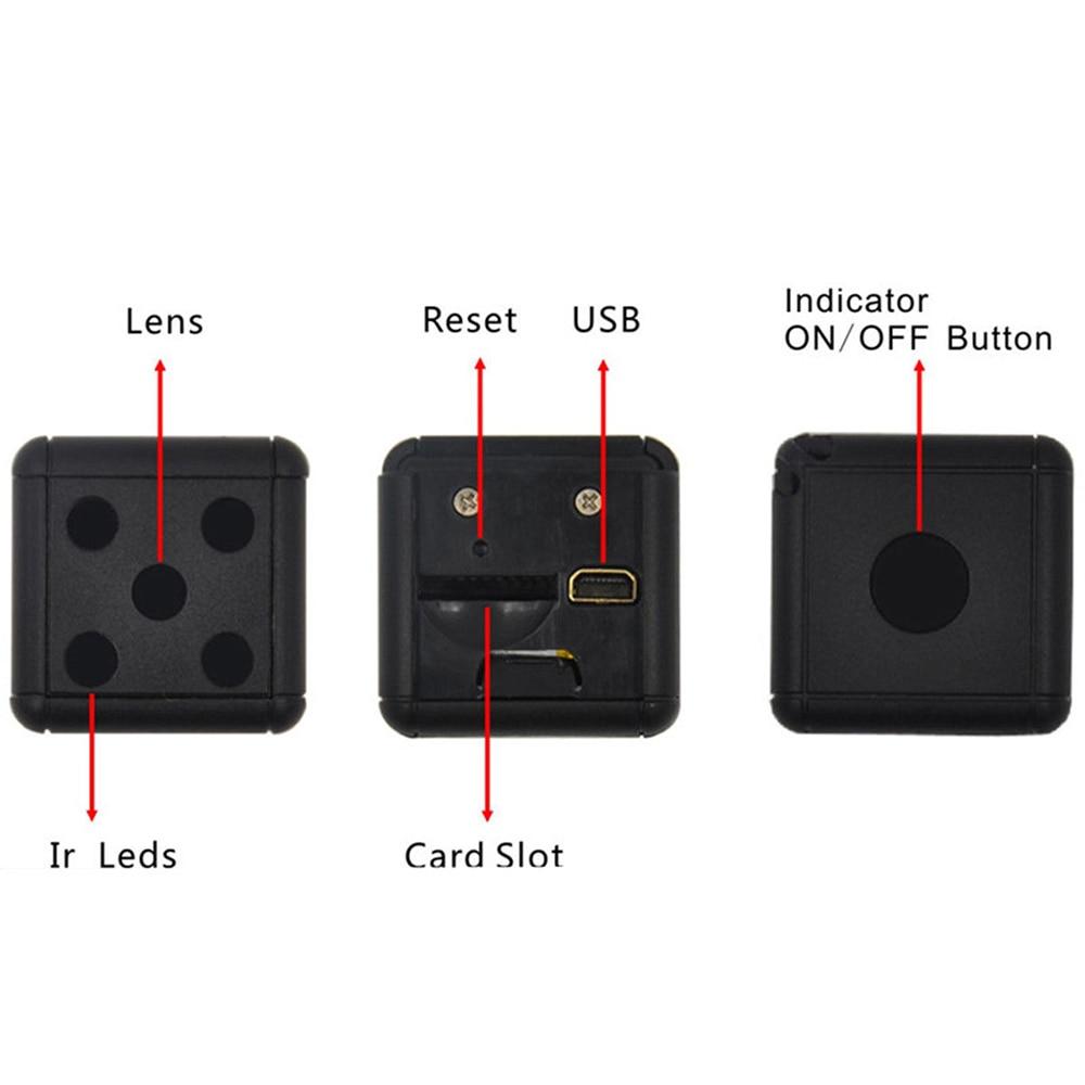 SQ16 Mini Camera With Night Vision 4
