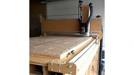 CNC Machine With Interface Board, Control Cables For Motors, Spindle And Inverter