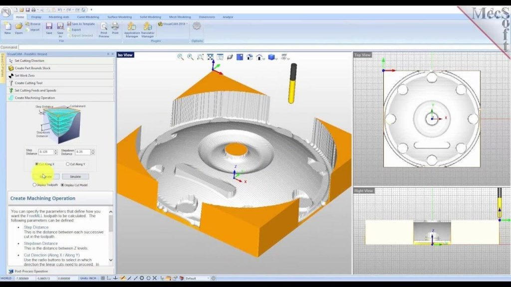 FreeMILL CNC Software