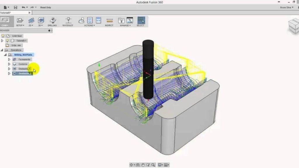 Fusion 360 CNC Software