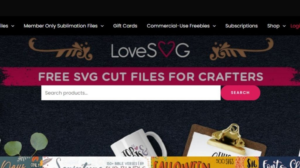LoveSVG Site For Free DXF Files