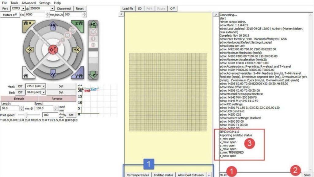 Marlin CNC Software