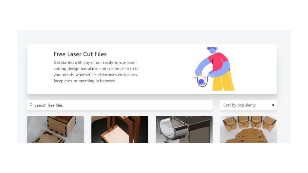 Ponoko Site For Free DXF Files