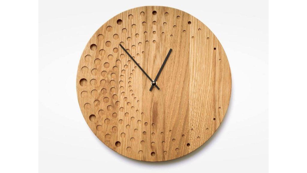 Weather Slat Clock
