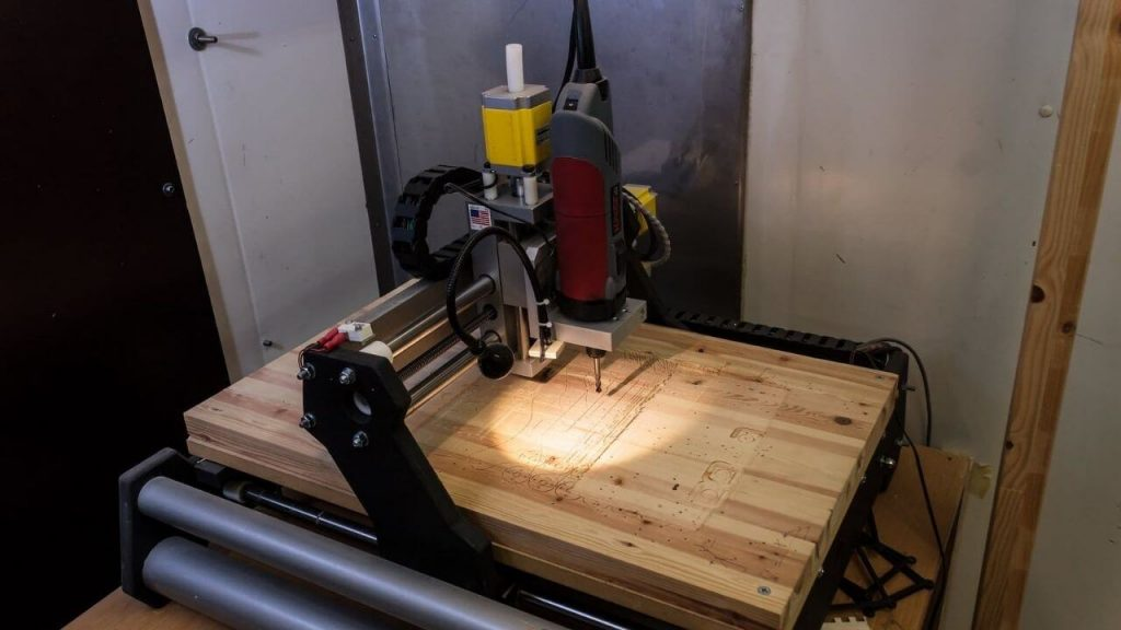 Working Procedure Of A Best 4×8 CNC Routers