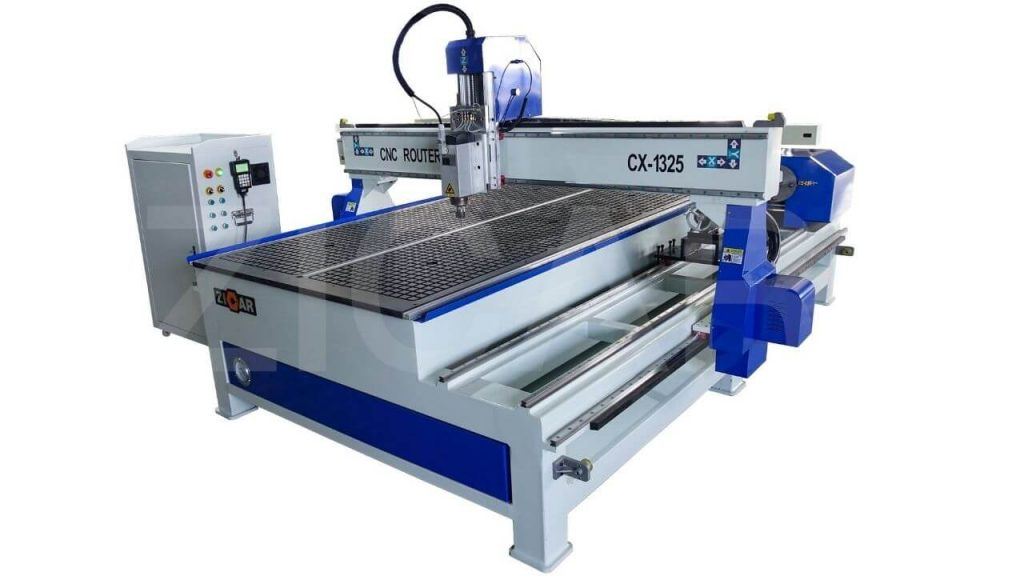 High Precision Cutting Of 4×4 CNC Router Kit