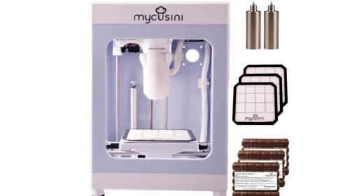 mycusini 3D Chocolate Printer With Integrated template library for use in the home, kitchen